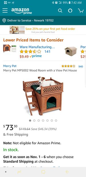 Dog or cat house for Sale in Newark, DE