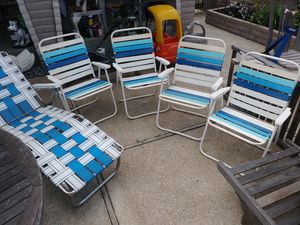 5 BEACH CHAIRS for Sale in Discovery Bay, CA