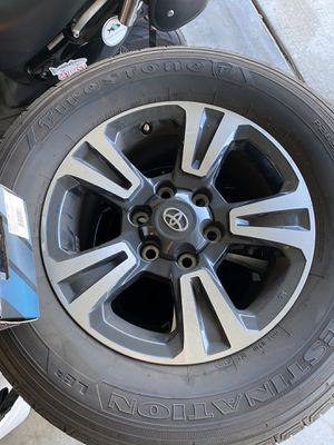 Tacoma TRD Sport Wheels and Tires for Sale in Carlsbad, CA