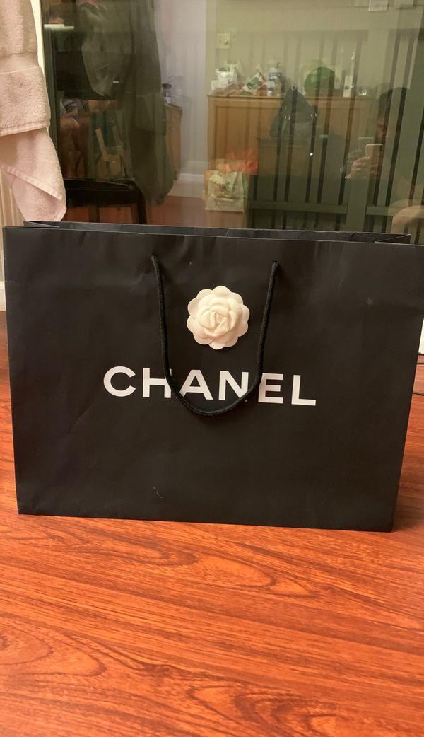 Chanel large shopping bag 20 x15x 5.5