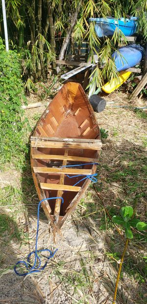 Wooden Canoe for Sale in St. Petersburg, FL