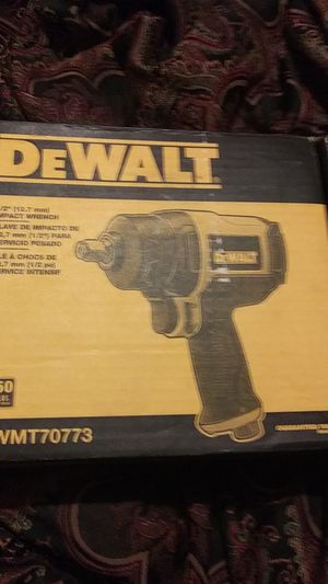 """1/2"""" (12.7 mm) impact wrench for Sale in Oklahoma City, OK"""