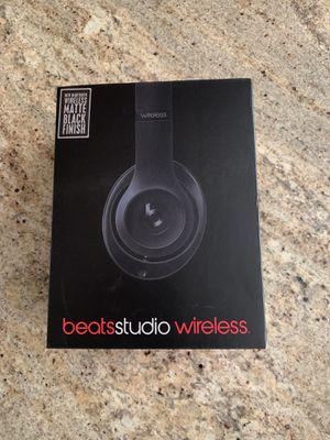 beats studio wireless matte black for Sale in Raleigh, NC
