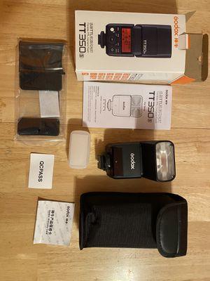 Godox TT350s flash for Sony camera for Sale in Staten Island, NY