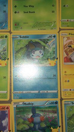Pokémon 25th Anniversary Cards McDonald's Lot for Sale in Jacksonville, FL