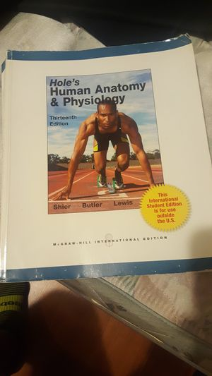anatomy and physiology book 13th edition for Sale in Hialeah, FL