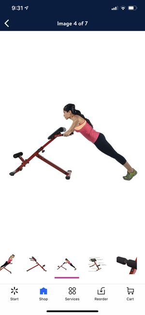 Stamina X Adjustable Ab Back Core Strength Exercise Fitness Hyperextension Bench/workout homegym/weights for Sale in Mesquite, TX