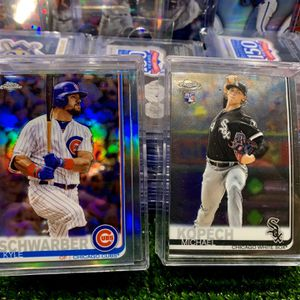 2019 Topps Chrome Refractors And Rookie Baseball Cards. for Sale in Emmaus, PA
