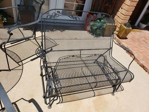 Bench Rocker Outdoor Furniture Patio for Sale in Mesa, AZ