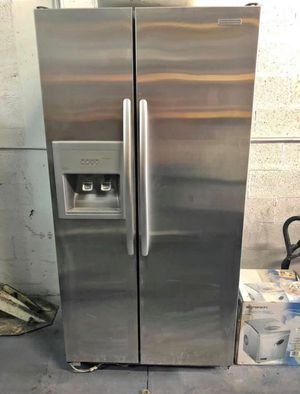 FREE DELIVERY! KitchenAid Refrigerator Fridge Side by Side Stainless Steel #986 for Sale in Chino, CA