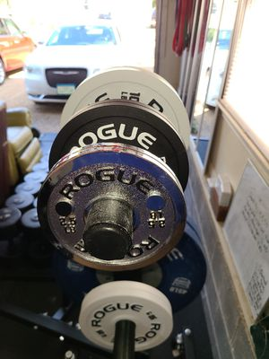 Rogue Calibrated Steel Change Plate Gym Weight Set for Sale in Poquoson, VA