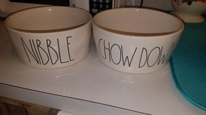 Ray Dunn dog bowls for Sale in Inverness, FL