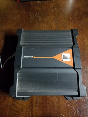 Dual 500watt 2 channel amp for Sale in Fresno, CA