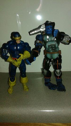 Toy Biz Xmen action figures Cyclops & Beast for Sale in Aurora, CO