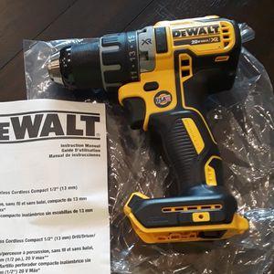 "Brand new Dewalt 20v Xr Brushless 1/2"" Drill tool Only for Sale in Fresno, CA"