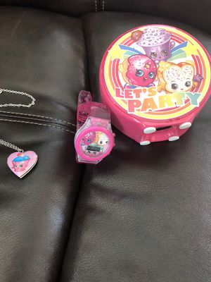 All Shopkins bank locket light up watch for Sale in Aurora, CO
