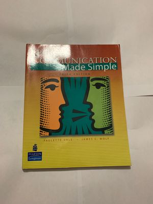 Speech Communication Made Simple (third edition) for Sale in Miramar, FL