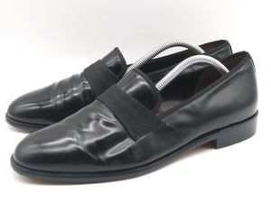 SALVATORE FERRAGAMO Men's Dress Loafers Black Leather Shoes Size 8 D $395 Italy for Sale in Hayward, CA