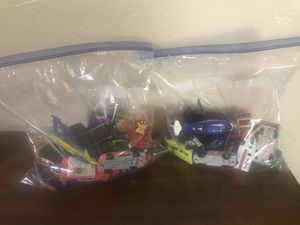 Bag of 20 Hotwheels and Matchbox cars for Sale in Amarillo, TX