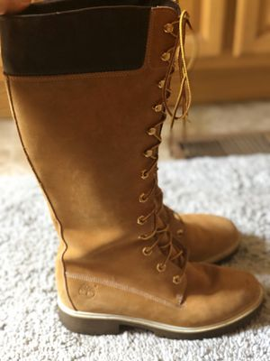 Woman's Timberlands size 7 1/2 for Sale in Zephyrhills, FL