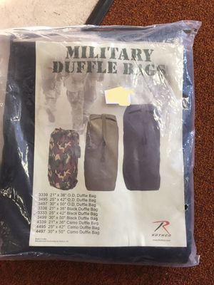 Military duffel bag for Sale in Gervais, OR