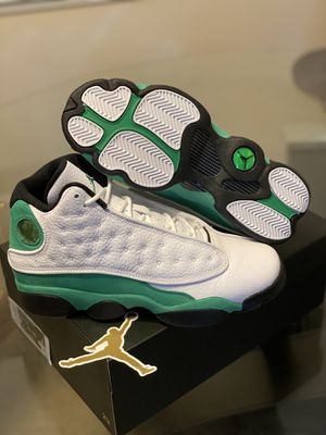 """Air Jordan 13 Retro 🍀 """" Lucky Green """"2020 SIZE US 12 and GS 7 for Sale in Fayetteville, NC"""