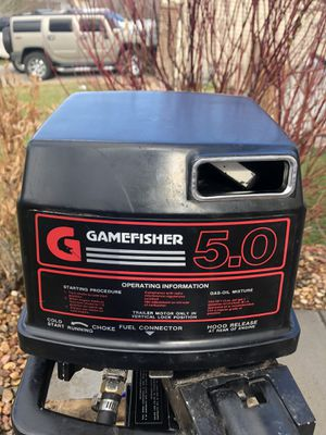Game fisher 5.0hp outboard 2 stroke for Sale in Commerce City, CO