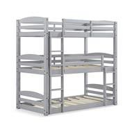 Wood Twin Triple Bunk Bed for Sale in Dallas, TX