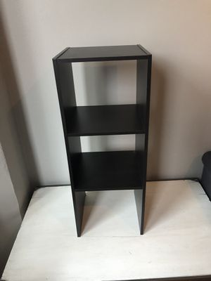 Dark Brown Wood, 2-Shelf Stand for Sale in Chicago, IL