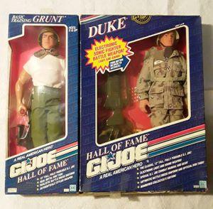 Gi Joe Hall of Fame Duke & Grunt Action Figures for Sale in Phoenix, AZ