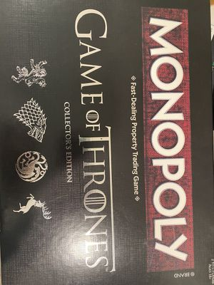 Board game Monopoly game of thrones for Sale in Seattle, WA