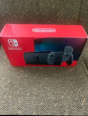 Nintendo switch console gray joy cons for Sale in Chino Hills, CA