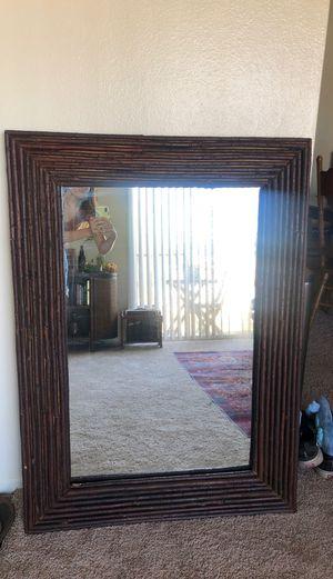 Wooden mirror for Sale in Escondido, CA