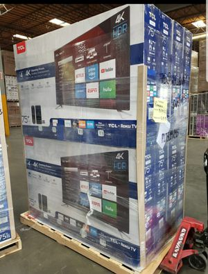 """75S423 75"""" TCL UHD 4K HDR ROKU TV for Sale in Ontario, CA"""