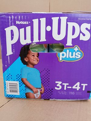 Huggies pull up 3-4T/116 counts for Sale in Gardena, CA