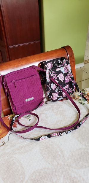 2 Vera Bradley Crossbody bag sling messenger purse for Sale in St. Cloud, FL