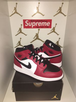 "Jordan 1 ""Chicago toe"" for Sale in Woodbridge Township, NJ"