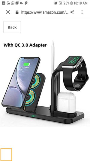 4 in 1 Wireless Charger Stand * for Sale in Queens, NY