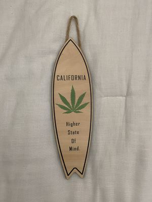 Weed Surfboard Decor for Sale in San Jose, CA