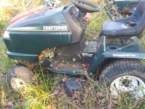 Craftsman Riding mower 50'inch cut, Kohler pro 20 V Twin engine doesn't run. No corre for Sale in Houston, TX