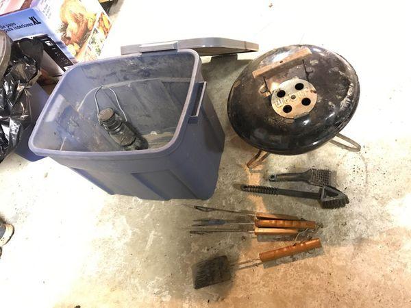 Weber Mini Camping Grill
