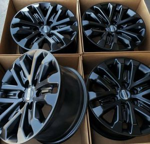 "17"" Ford F-150 Raptor Black Wheels Rims Rines for Sale in Huntington Beach, CA"