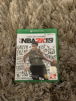 Xbox one nba 2k19 for Sale in Berryville, VA