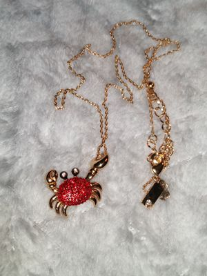 Pre-Owned Kate Spade Shore Thing Red Crab Necklace for Sale in Fremont, CA