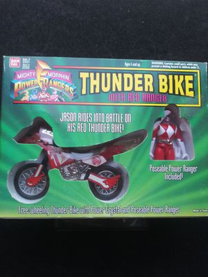 Power Ranger Thunder Bike Red Ranger 1994! for Sale in Corona, CA