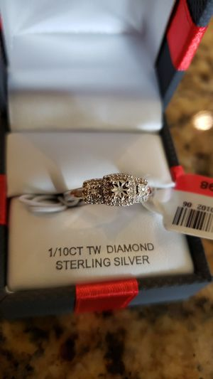 Sterling silver ring size 7 for Sale in Ashburn, VA