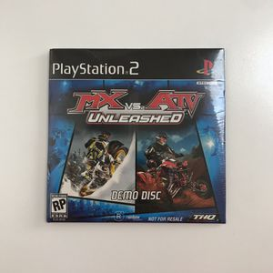 Playstation 2 MX vs. ATV UNLEASED Demo Disc *SEALED* for Sale in Carlsbad, CA