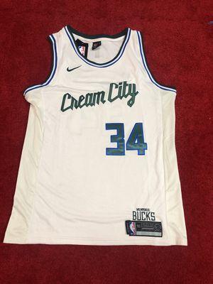 Giannis Antetokounmpo bucks jersey men's large for Sale in Atlanta, GA