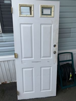 Two mobile home size exterior doors for Sale in Pawtucket, RI
