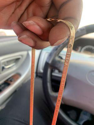 14k gold chain for Sale in Wichita, KS